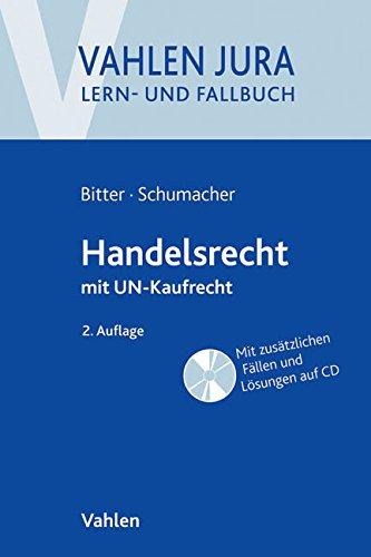 Buchseite und Rezensionen zu 'Handelsrecht: mit UN-Kaufrecht' von Georg Bitter