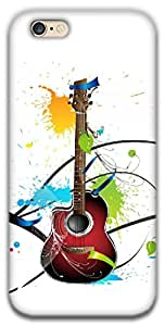 The Racoon Lean Colours Of Guitar hard plastic printed back case / cover for Apple Iphone 6/6s