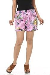 Abony Baby Pink Women's Short