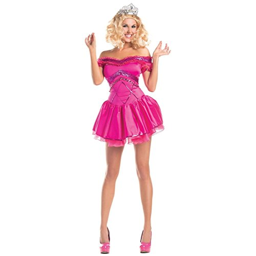 [GSG Beauty Queen Costume Adult Honey Boo Boo Pageant Funny Halloween Fancy Dress] (Beauty Pageant Queen Costume)