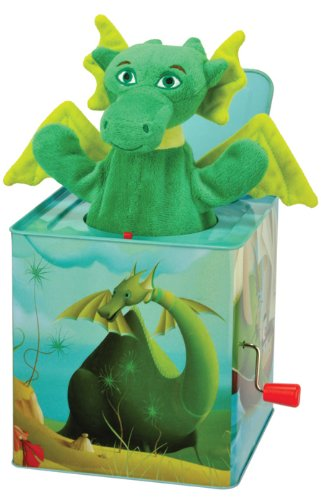 Kids Preferred Puff, The Magic Dragon: Jack In The Box front-212499