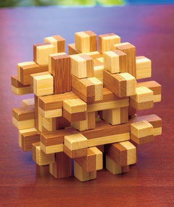 Bamboo Benders Box Puzzle 3D
