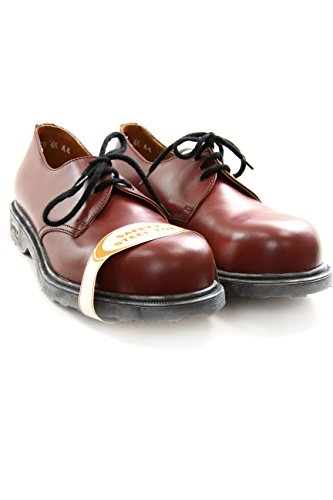 Cult Vintage Leather Shoes with Steel Toe Bolt N. Felix Bordeaux CL2572G8721 (40 EU, Bordeaux)