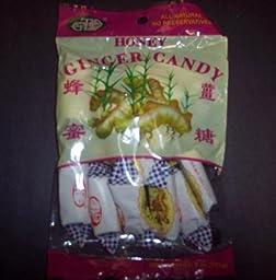 Honey ginger candy multipack(6 bags) 4 oz per bag