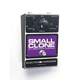 Electro-Harmonix Small Clone Chorus Pedal