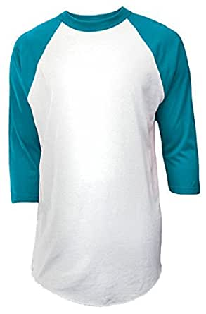 Amazon.com: Soffe Youth Baseball Jersey Tee (Medium, White