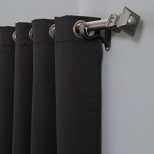 Rhf Thermal Insulation Blackout Curtains Panel Sliding Patio Door Black 100 X84 Ebay