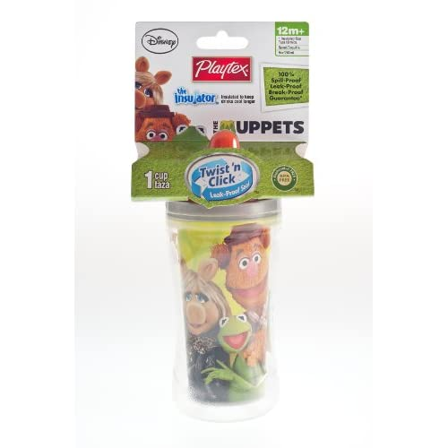Playtex Muppets Insulator Spout 9oz. 24/1pk