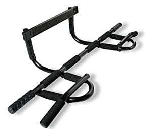 Maximum Fitness Gear All-In-One Doorway Chin-Up Bar with Ab Exercise Guide