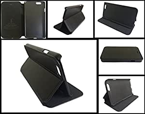 """Generic PU Leather carry flip case cover for Apple iPhone 6 6s 4.7 """" Inch - Black"""