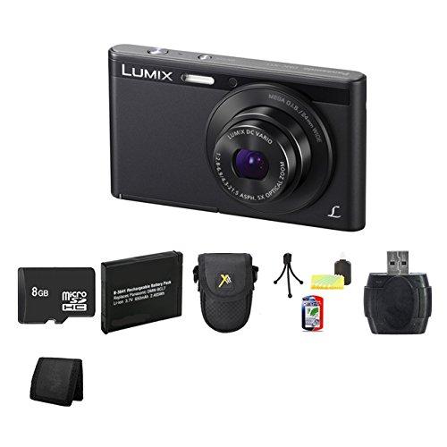 Panasonic Lumix Dmc-Xs1 16.1 Mp Digital Camera (Black) Bundle 1