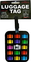 My Bag Luggage Tag with Multicolor Suitcase iPhone looking Design Bright Uniq…