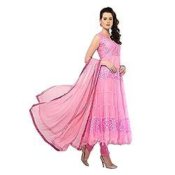 Leela Creators Brasso Net Suit (Baby Pink)