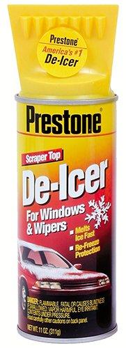 Prestone AS242-12PK Spray De-Icer with Scraper Top -11 oz., (Pack of 12) (Prestone Deicer compare prices)