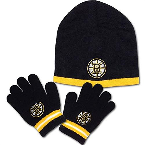 Boston Bruins Toddler Hat and Glove Set Sporting Goods ...