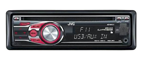 JVC KD-R411 Car Stereo Front Aux Input/USB/CD/MP3