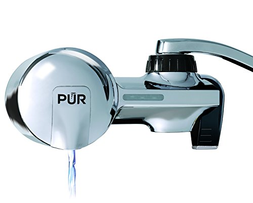 PUR PFM400H Chrome Horizontal Faucet Mount with 1 Mineral Clear Filter (Water Filter Pur 3700 compare prices)