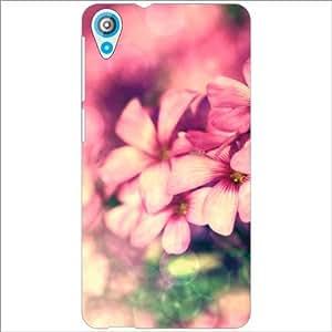 HTC Desire 820 Back Cover - Rose Designer Cases