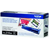 Brother TN210BK Toner Cartridge - Retail Packaging - Black