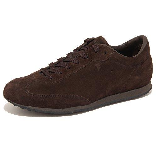 7853N sneaker TOD'S ALLACCIATO marrone scarpe uomo shoes men [5.5]