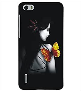 HUAWEI HONOR 6 BUTTERFLY Designer Back Cover Case By PRINTSWAG