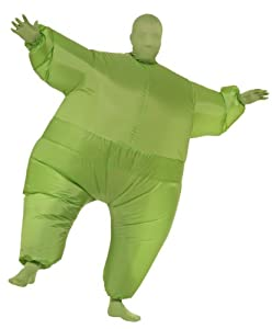 Rubie's Costume Inflatable Full Body Suit Costume, Green, One Size