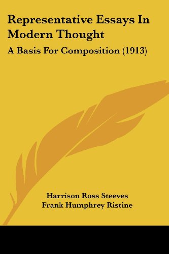 Representative Essays in Modern Thought: A Basis for Composition (1913)