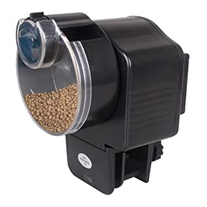 Donner Aquarium Automatic Fish Food Feeder Once or Twice Daily
