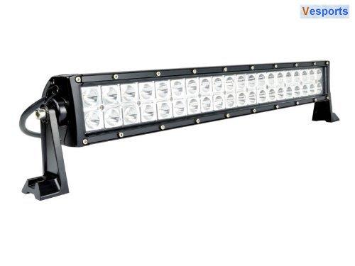 "20"" Led-22"" Light Bar -120W-7500Lumen - Off Road, Polaris Rzr, Utv, Raptor, Jeep"