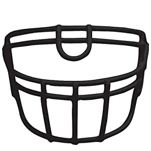 Buy football faceguard running ROPO UB DW barnett, one size, black by barnett sports