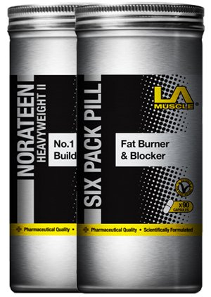 LA Muscle Transformer Pack - Lose Weight & Gain Muscle