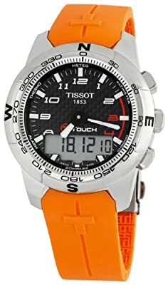 Tissot Men's T0474204720701 T-Touch II Black Digital Multi Function Watch