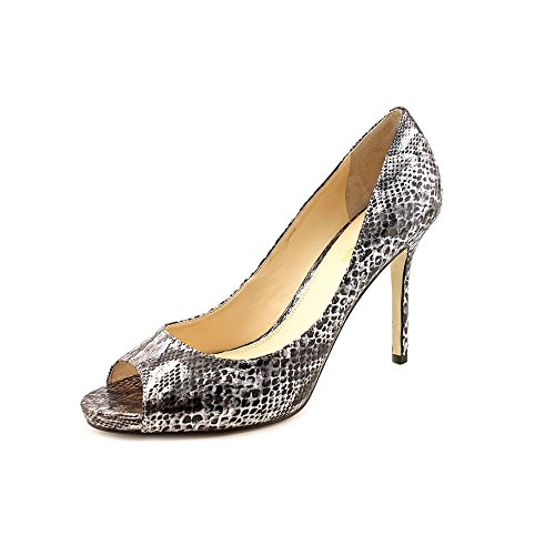 Rib Womens Shoes Enzo Angiolini Maiven Pumps Pewter Size 11 Customer Return front-1072129