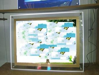 "Gowe Crystal Led Photo Light Box, 24""X36"" Led Photo Light Box Sign 5 Pcs"