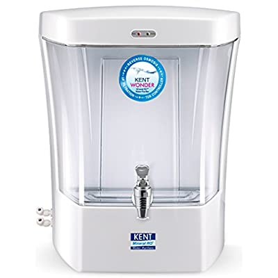 Kent Wonder 7-Litre 6-Watt RO Water Purifier (Pearl White)