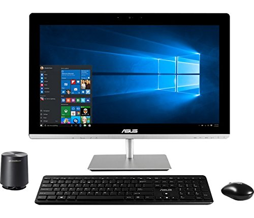 2016 Newest Asus 23″ Full HD Touchscreen All-In-One Desktop PC, Intel Core i5-5200U processor, 8GB RAM, 2TB HDD, DVD+/-RW, WIFI, Webcam, HDMI, Bluetooth, Windows 8.1 / 10