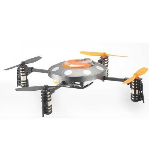 Imagen de Udirc 2.4ghz 4-ejes girocompás Mini RC Aviones LCD OVNI Multicopter Helicóptero U816 W/4channel