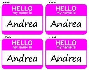hello my name is andrea Hello my name is andrea and i'm 13 years old, i like fishing and playing hockey i live here in luleå with my mum and stepdad i've lived in luleå for about 3.