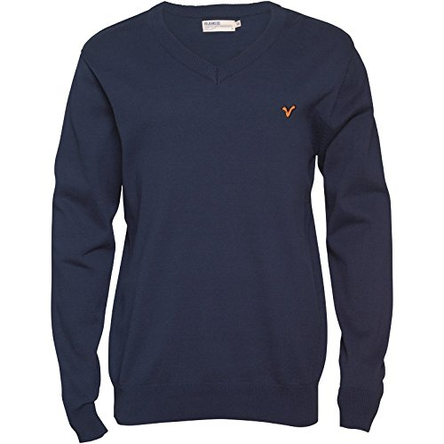 Navy Voi Jeans Herren Audley Strickpullover Navy - L To Fit Chest 38-40 Euro Large