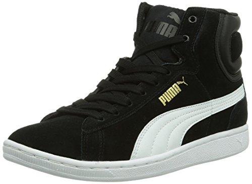 Puma Vikky Mid Wns, Sneaker alta Donna, Nero (Schwarz (black-white 02)), 42