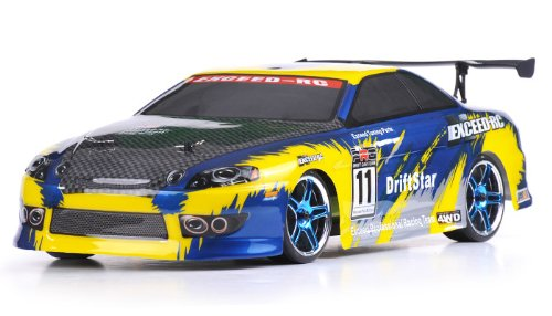 41nVBkl7u3L Cheap Price 1/10 2.4Ghz Exceed RC Electric DriftStar RTR Drift Car Yellow Version