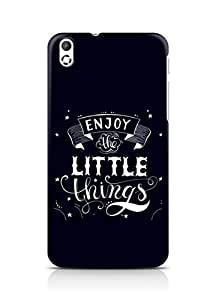 AMEZ enjoy the little things 2 Back Cover For HTC Desire 816