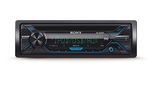 Sony CDXG3200UV Autoradio con Lettore CD, USB, Aux, Controllo per iPod e iPhone, Potenza massima di uscita 4x55W, Nero
