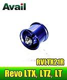 【Abu/アブ】 Revo・レボ LTX・LTZ・LT用 軽量浅溝スプール Avail Microcast Spool RVLTX21R (溝深さ2.1mm) ブルー