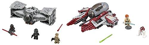 LEGO-Star-Wars-TIE-Advanced-Prototype-355PCS-LEGO-Star-Wars-Obi-Wans-Jedi-Interceptor-215PCS-Playsets-Building-Toys