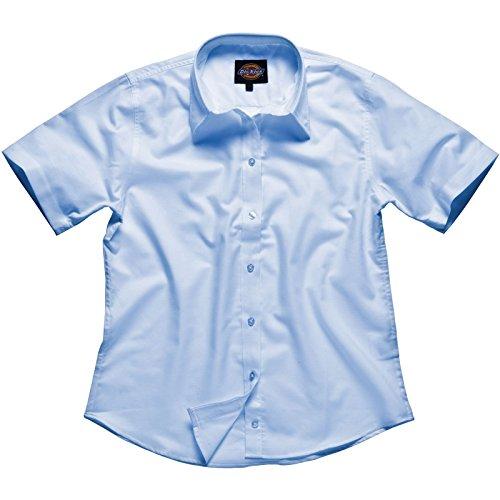 Dickies Workwear-Camicia a maniche corte (8, Luce Blu)