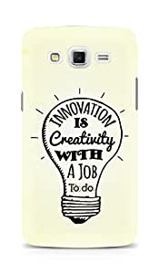 Amez Innovation is Creativity with a Job to do Back Cover For Samsung Galaxy Grand 3