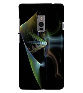 ColourCraft Printed Design Back Case Cover for ONEPLUS TWO