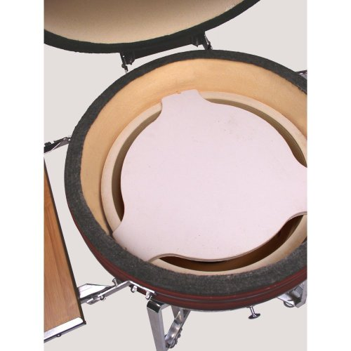 The PERFECT Heat Deflector / Flat Plate Setter for fits Vision Kamado 18