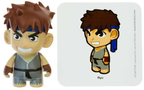 "Ryu 2: Street Fighter x KidRobot ~3"" Mini-Figure Series - 1"